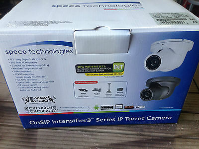 Oint03D1G Intensifier 3 Turret Ip Camera New In Box Color Night Vision