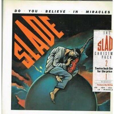 """SLADE Do You Believe In Miracles 12"""" VINYL 5 Track Limited Edition Christmas"""
