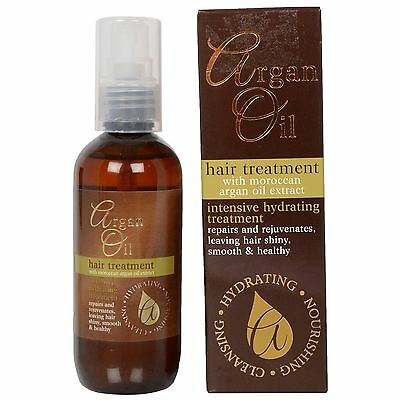 Intensive Hydrating Hair Repair Treatment with Moroccan Argan Oil Extract 100ml