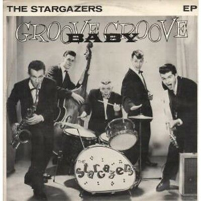 "STARGAZERS (ROCKABILLY GROUP) Groove Baby Groove 12"" VINYL 4 Track B/W Jump"