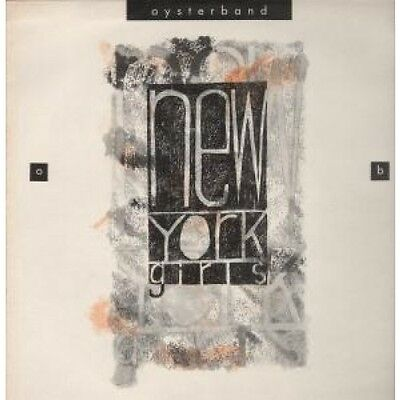 """OYSTER BAND New York Girls 12"""" VINYL 3 Track B/W My Dog And Gallopede (Fry009T)"""