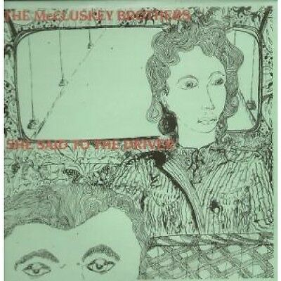 """MCCLUSKEY BROTHERS She Said To The Driver 12"""" VINYL 3 Track Green Pic Sleeve"""