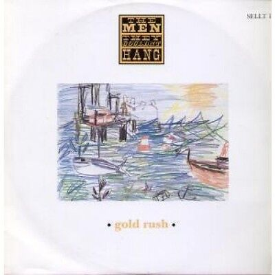 """MEN THEY COULDN'T HANG Gold Rush 12"""" VINYL 3 Track B/W Ghosts Of Cable Street"""