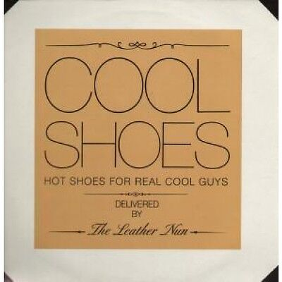 "LEATHER NUN Cool Shoes 12"" VINYL 3 Track B/W I Wish And Special Agent (Wrms016)"