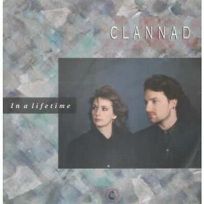 """CLANNAD AND BONO In A Lifetime 12"""" VINYL 4 Track B/W Northern Skyline, Indoor"""