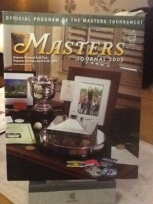 Us Masters Golf Programme 2005.
