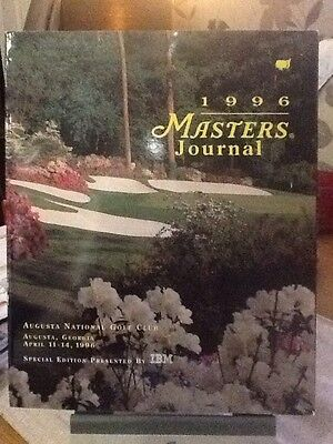 Us Masters Golf Programme 1996