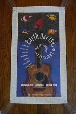 Paul McCartney Don Henley Concerts 4 the Environment Hollywood Bowl Poster 1993