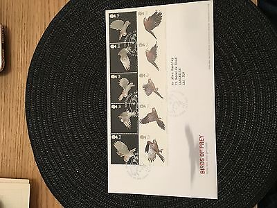 First day cover Great Britain birds of prey