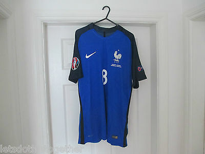 PAYET #8 FRANCE EURO 2016 Home L Replica Match Issue VS Albania Opening Game NEW