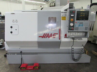 Haas SL-20T CNC Turning Center - 276 Spindle Hours!