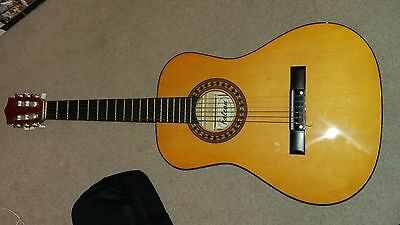 3/4 classical guitar with new Stagg case