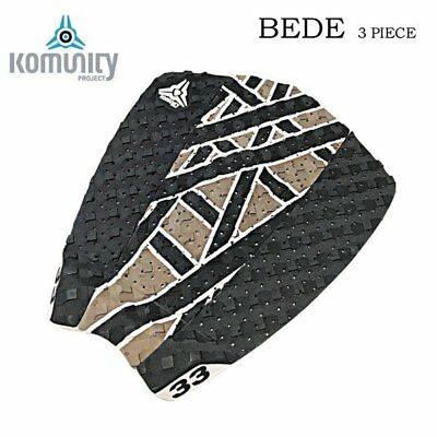 Komunity Project Bede Signature Surfboard Tail Pad - White