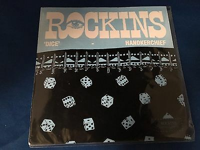 Rockins Dice Handkerchief - Black & White