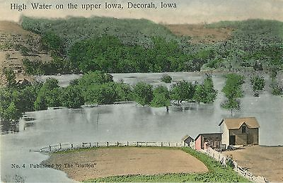 A View of the High Water On The Upper Iowa, Decorah IA