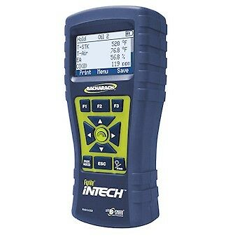 Bacharach Fyrite Intech Combustion Analyzer O2 measurement