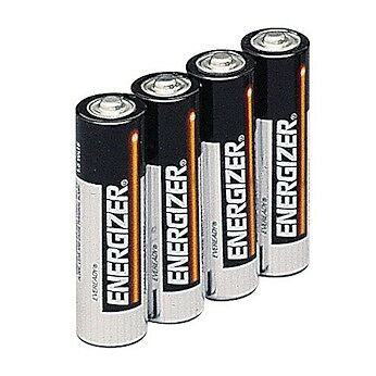 Energizer E91 Regular Alkaline Batteries 1.5 V AA 4/pack
