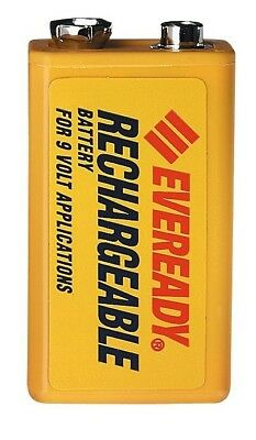 Energizer NH22NBP Eveready Rechargeable NiMH Batteries Size 9V