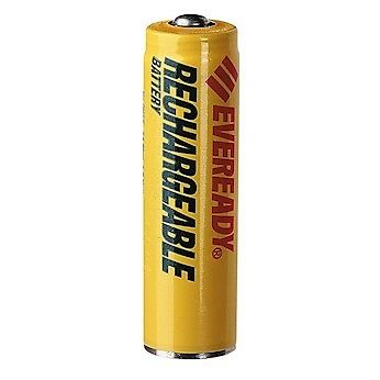 Energizer NH15BP-2 Eveready Rechargeable NiMH Batteries Size AA; Pack of 2