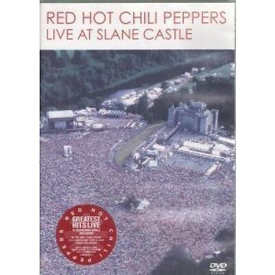 RED HOT CHILI PEPPERS Live At Slane Castle DVD Pal Format Regions 2-6 With 102