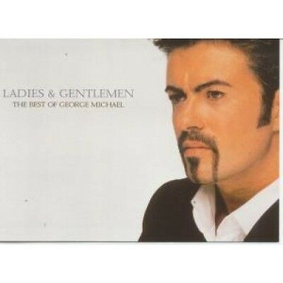 GEORGE MICHAEL Ladies And Gentlemen CARD Promo Only Postcard Japanese Epic