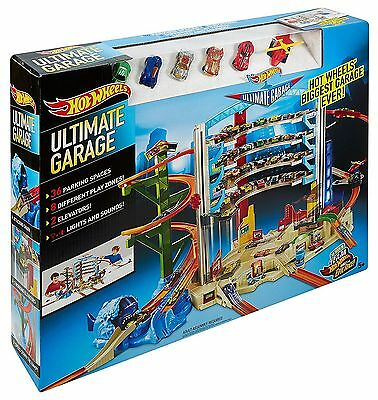 24HOUR SALE!! Hot wheels ultimate garage Boys Christmas. FAST SHIPPING