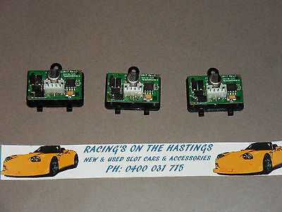 Used Scalextric C8515 EasyFit Digital Plug x 3 For DPR Slot Cars. VGC.