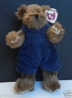 "Ty Collectible Attic Treasures Collection Stuffed Bear ""Christopher"" Retired"