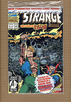 Doctor Strange Annual #3 Polybaged With Trading Card Marvel Comics 1993 Nm/nm