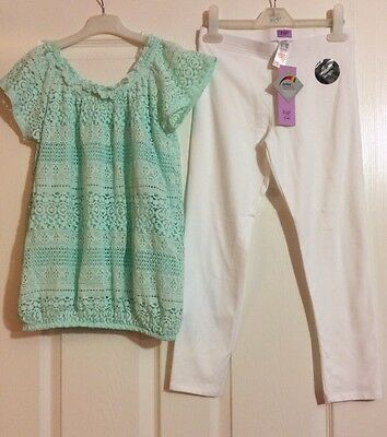 Girls F&F Outfit Age 11 Years (New)