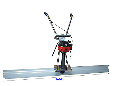 1.2HP Concrete Screed 4 Cycle Engine 6.5ft Board Cement Vibrating Power Screed