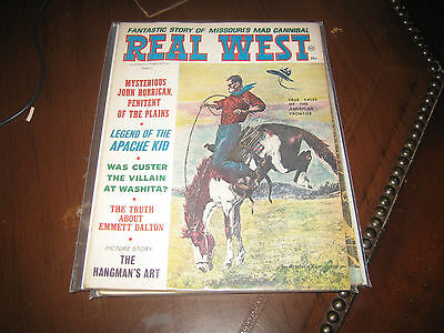 March 1966 Real West Magazine-Frederic Remington