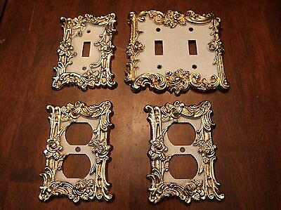 Vintage 4pc 1967 American Tack And Hardware Switch and Outlet Covers
