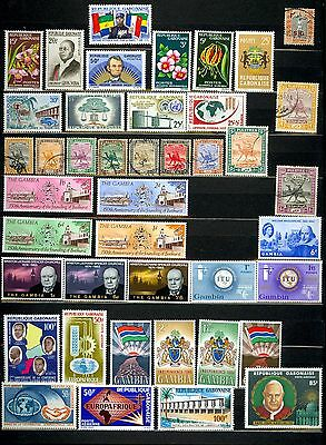 Gambia Gabonaise Stamps Mint MH Used Africa Lot Q91
