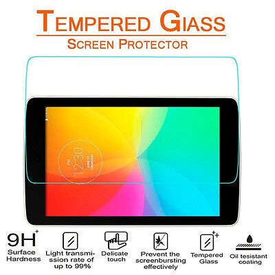 9H+ Tablet Tempered Glass Screen Protector for LG G Pad 7 F 8.0 X8 X8.3 X10.1 DG