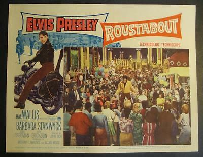1964 ROUSTABOUT Lobby Card #6 Elvis Presley