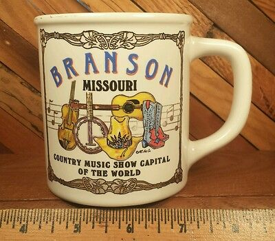 Branson Missouri Country Music Show Capital of The World 12oz Mug by MC Art Co.