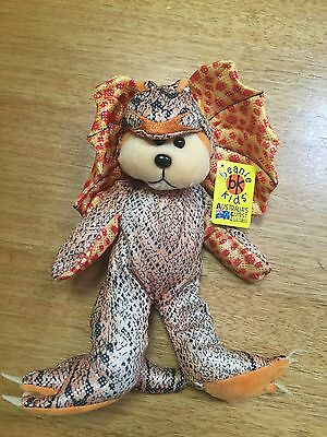 Beanie Kids Retired Priscilla The Lizard Brand New With Tags