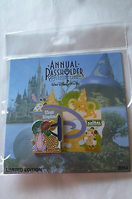 Disney Passholder Figment - EPCOT Pin 2014 Limited Edition New