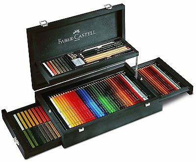 Faber Castell Art & Graphic 3x36 Collection Holzkoffer 110086