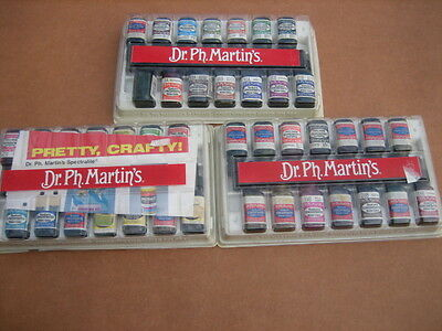 Dr. Ph. Martin's Synchromatic Transparent Water Colors .5 oz Bottles 42 ct.