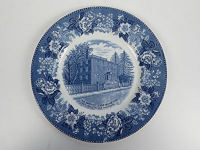 Antique Moffatt Ladd House Staffordshire Jonroth Souvenir Plate Portsmouth NH #2
