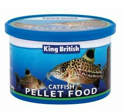King British Poisson-chat Pleco Granulé De Bois 65g 200g 600g Tropical