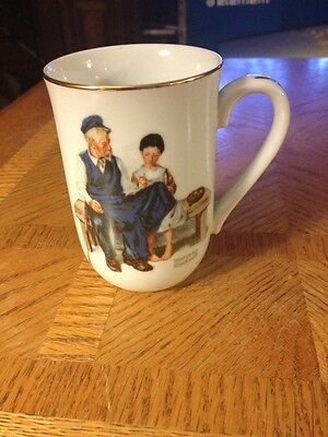 Norman Rockwell The Lighthouse Keepers Daughter Mug Used