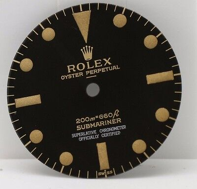 5513 Submariner Gilt Dial , 4 lines with underline