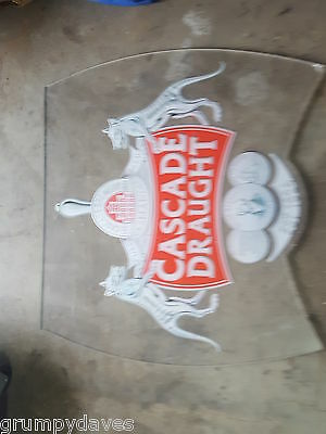 cascade draught  man cave pub sign  - can post if required