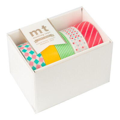 NEW MT Washi Tape Candy Pop 5pk