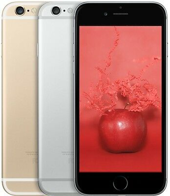 Apple iPhone 6 / 6 Plus (AT&T OR T-Mobile), 16 64 128GB Gray Silver Gold