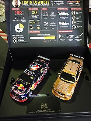 Scalextric C3815A Craig Lowndes 100th Race Win Twin Set Limited Edition