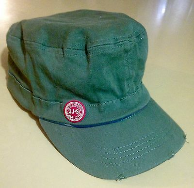 Jameson Irish Whiskey Hat Military Style Cap-New!- Distressed Stretch Fit Olive